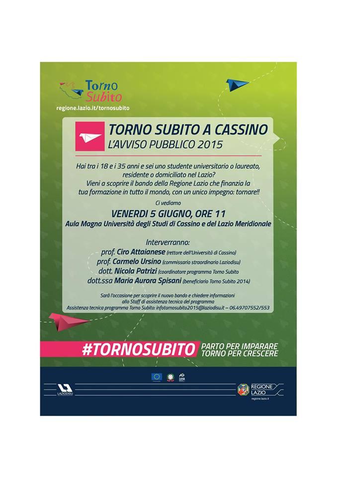 4.TornoSubito2015